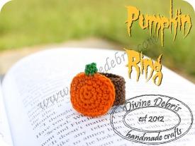 Pumpkin Ring Pattern by DivineDebris.com