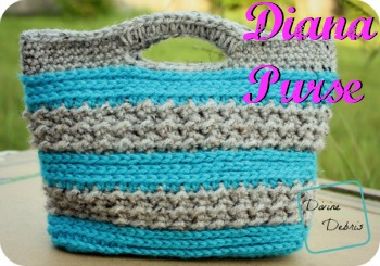 Diana Crochet Purse Pattern by DivineDebris.com