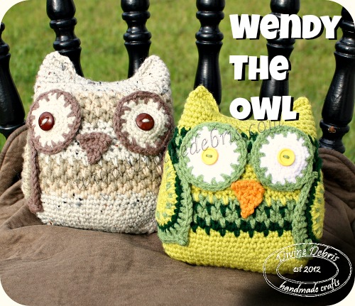 Wendy the Owl Pattern by DivineDebris.com