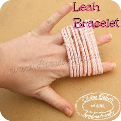 Leah Bracelet Pattern by DivineDebris.com