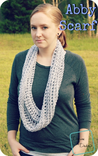 Abby Scarf Pattern by DivineDebris.com