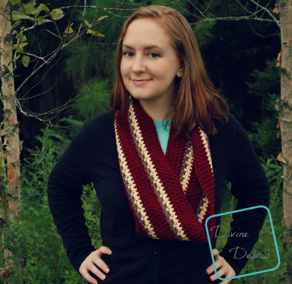 Willow Scarf 2.0 crochet pattern by DivineDebris.com