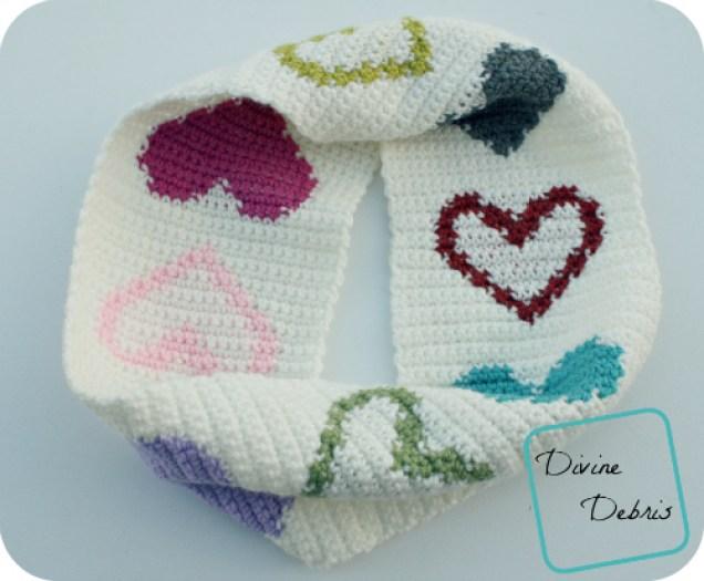Crochet Valentine's Day Free Pattern Round Up