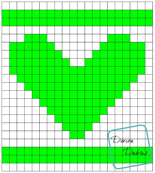 Sampler Heart Graph by DivineDebris.com
