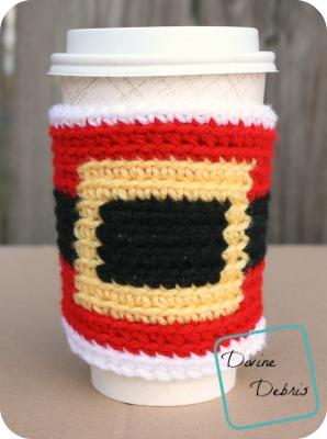 Santa Belly Cozy crochet pattern by DivineDebris.com
