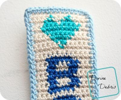 Books Bookmark free crochet pattern by DivineDebris.com