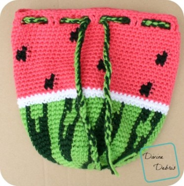 Crochet Watermelon Amigurumi - Free Patterns - DIY 4 EVER | 375x372