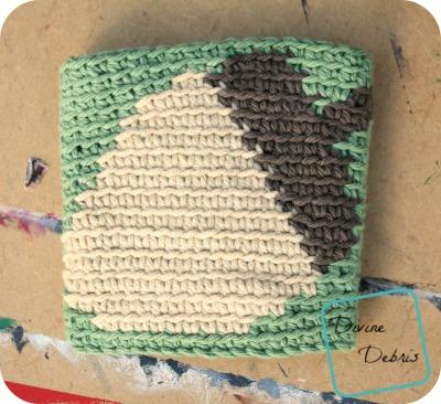 Acorn Mug Cozy free crochet pattern by DivineDebris.com