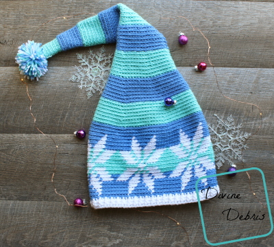 Snowflaking Hat free crochet pattern