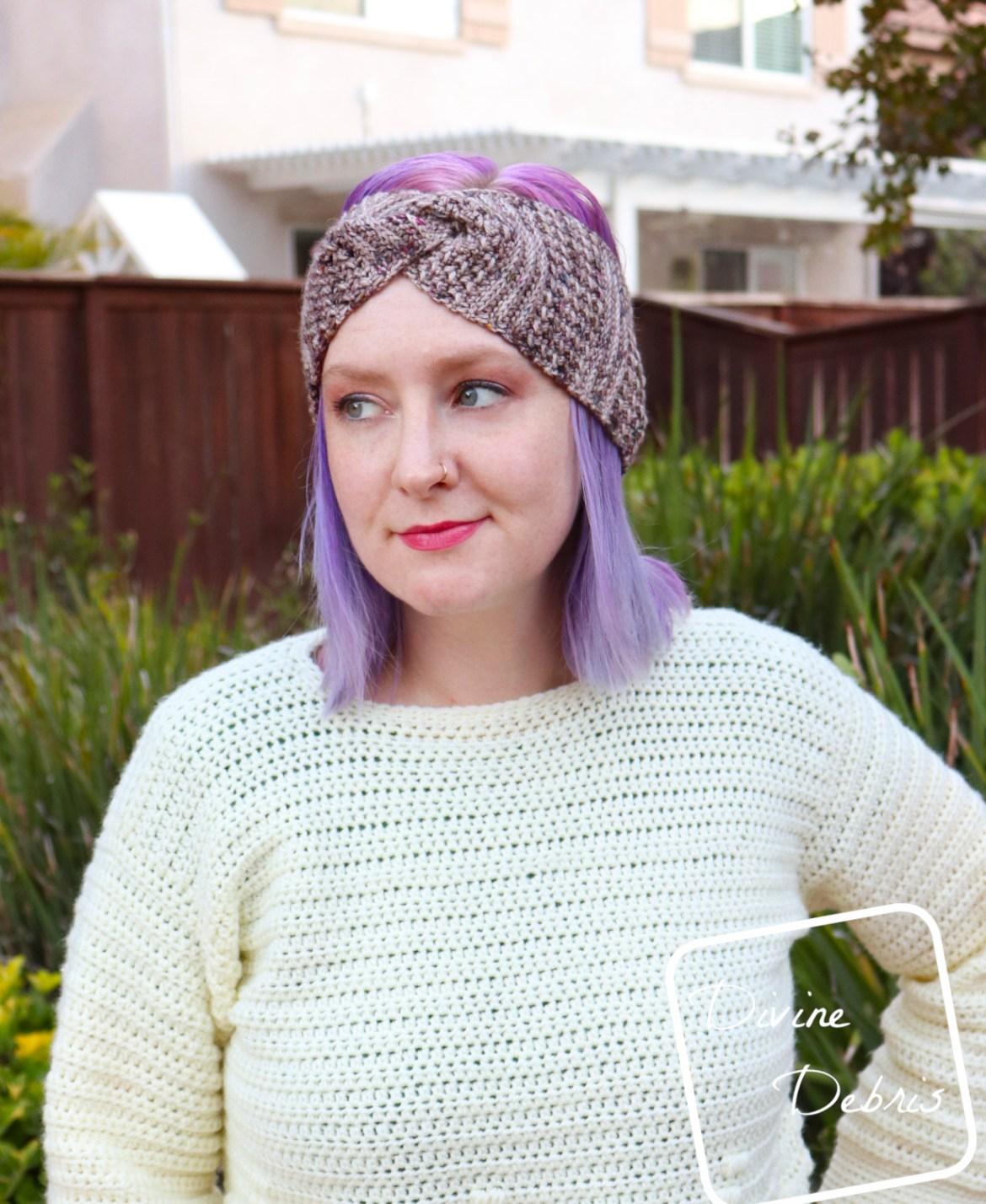 A Season for Headbands – the Artemis Headband crochet pattern