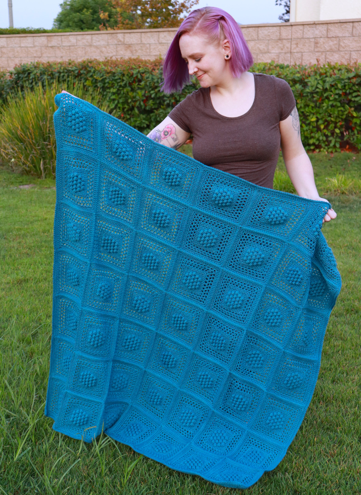 Get Ready for Fall with the New Winterberry Throw Crochet Pattern