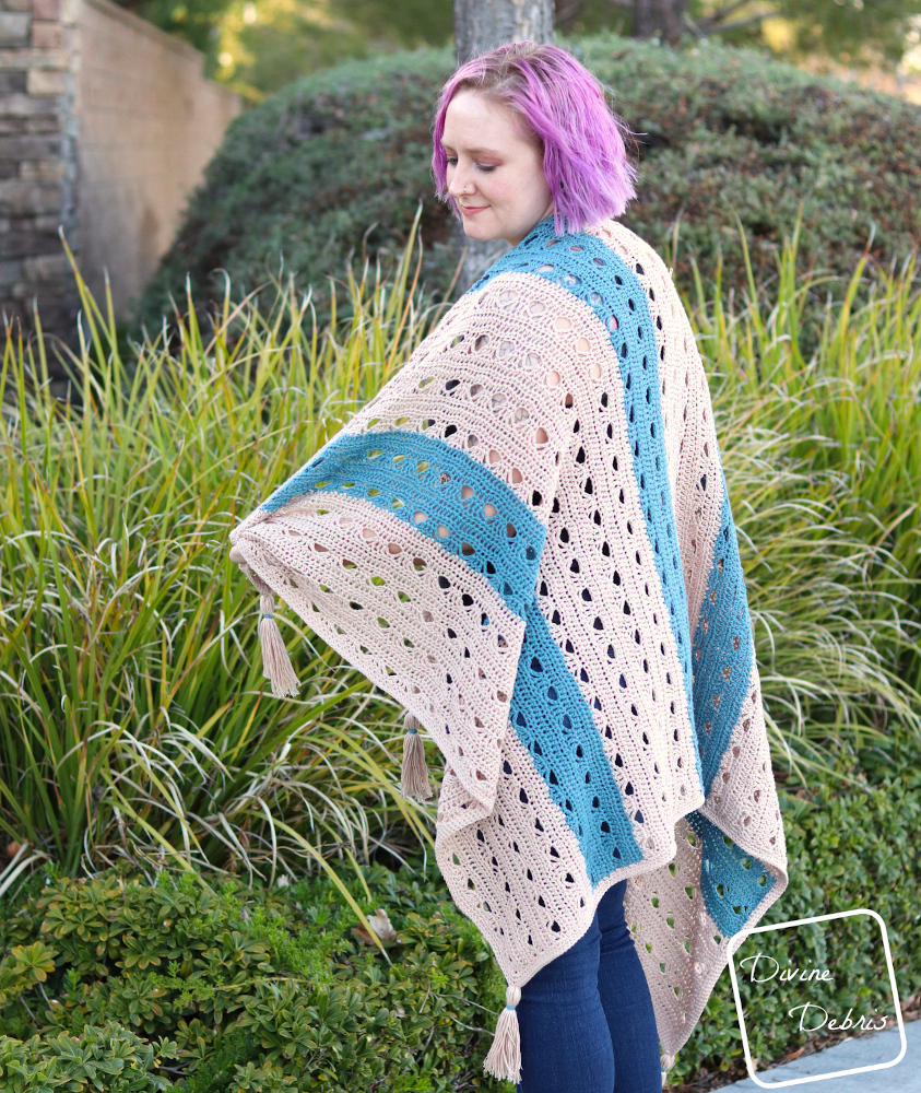 Feeling Cozy for Spring with the Free Louise Blanket Crochet Pattern