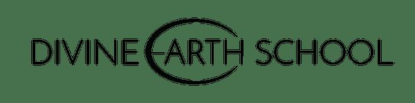 Divine Earth School Black Logo
