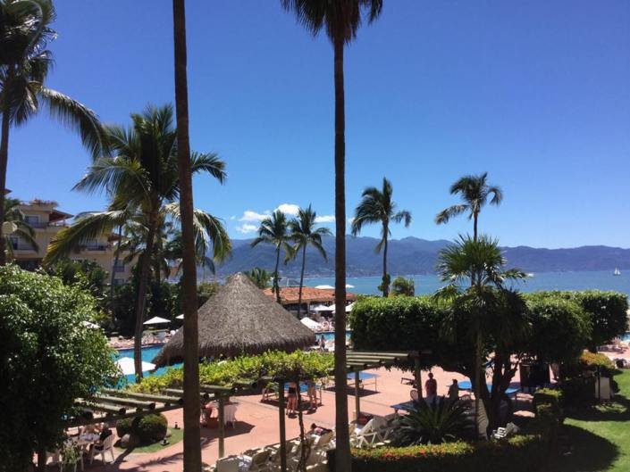 Spirit Retreat Puerto Vallarta 2016 view from our balcony