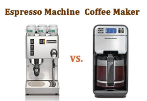 Coffee Maker Vs Coffee Maker : Espresso Machine vs. Coffee Maker