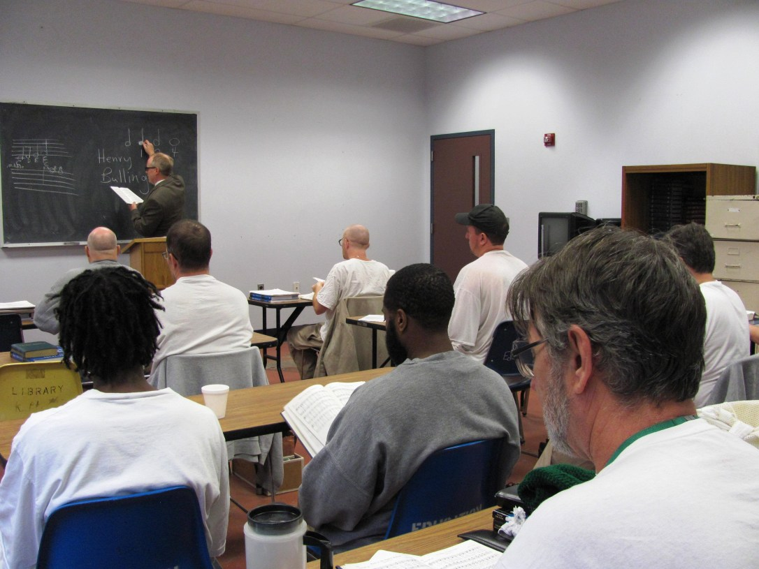 Indiana State Prison Classroom (Photo by Prison Praise, 2007)