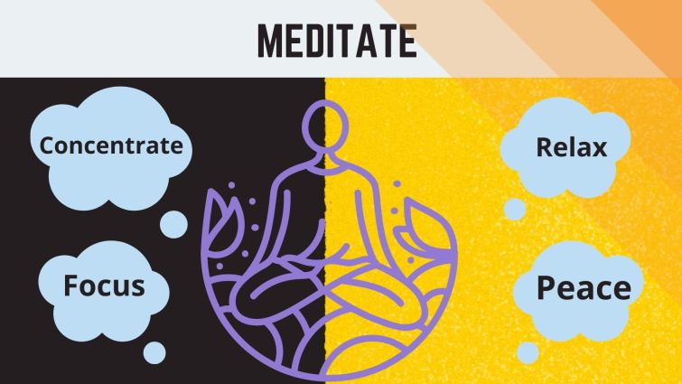 How To Study When You Don't Feel Like: Meditate