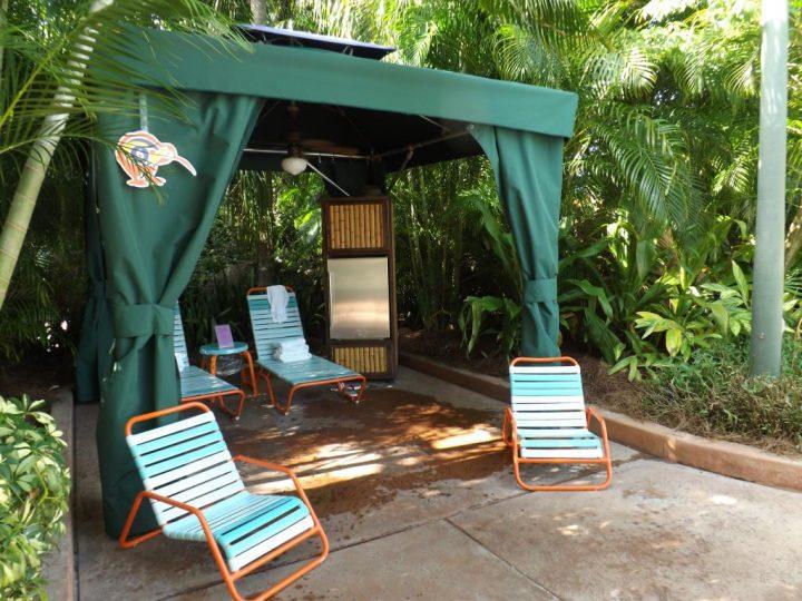 Discovery Cove in Orlando Florida Cabana