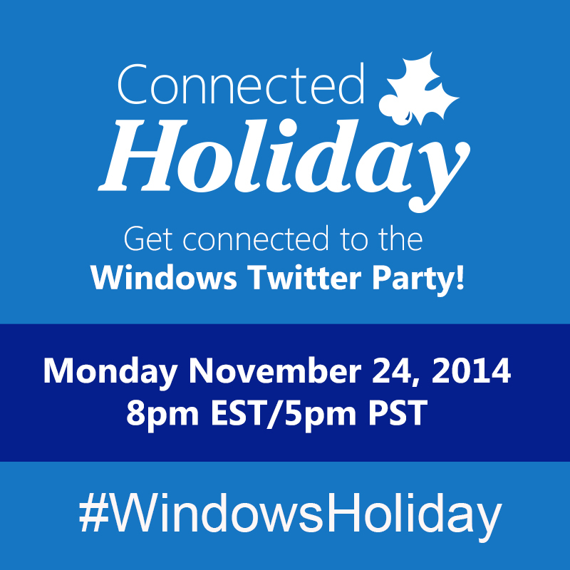 windows holiday