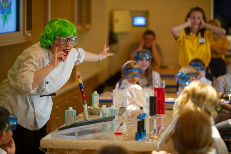 Disney Dream Cruise Ship for Kids Oceaneer Lab