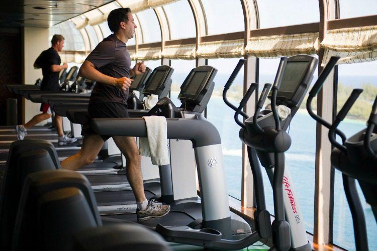 Disney Dream Gym in Senses Spa & Salon