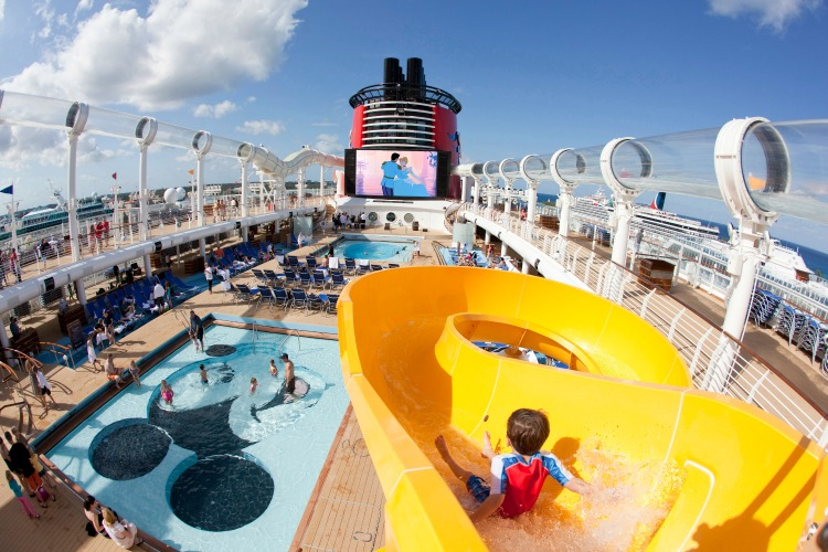 Disney Dream Mickey's Pool