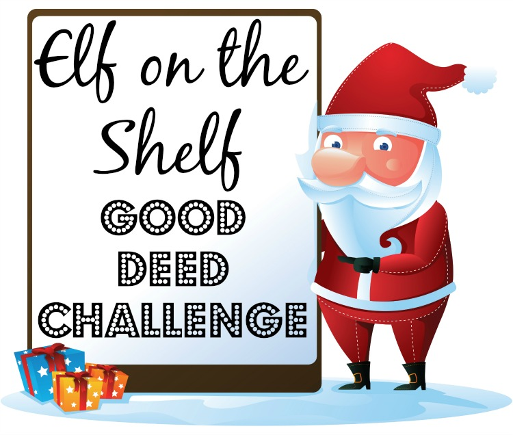 Elf on the Shelf Good Deed Challenge