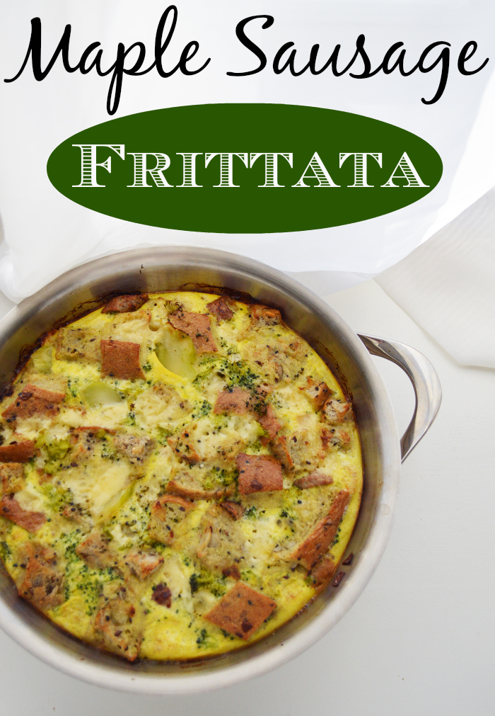 Maple-Sausage-Frittata-Fresh-out-of-Oven