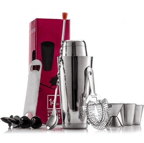 Expert Cocktail Shaker Home Bar Set