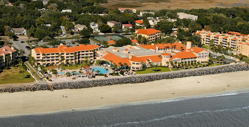 King and Prince Beach & Golf Resort Aerial View