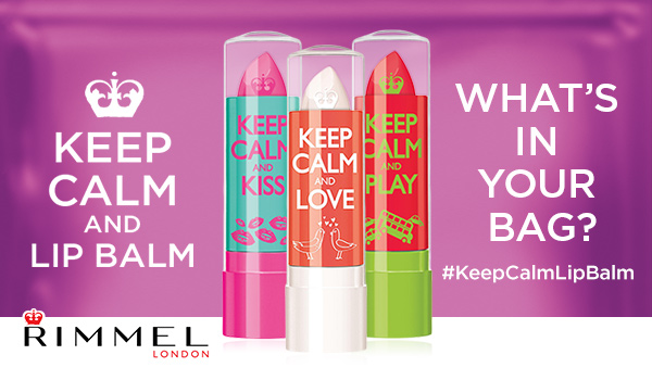 What's in My Bag? Keep Calm and Lip Balm with Rimmel #KeepCalmLipBalm