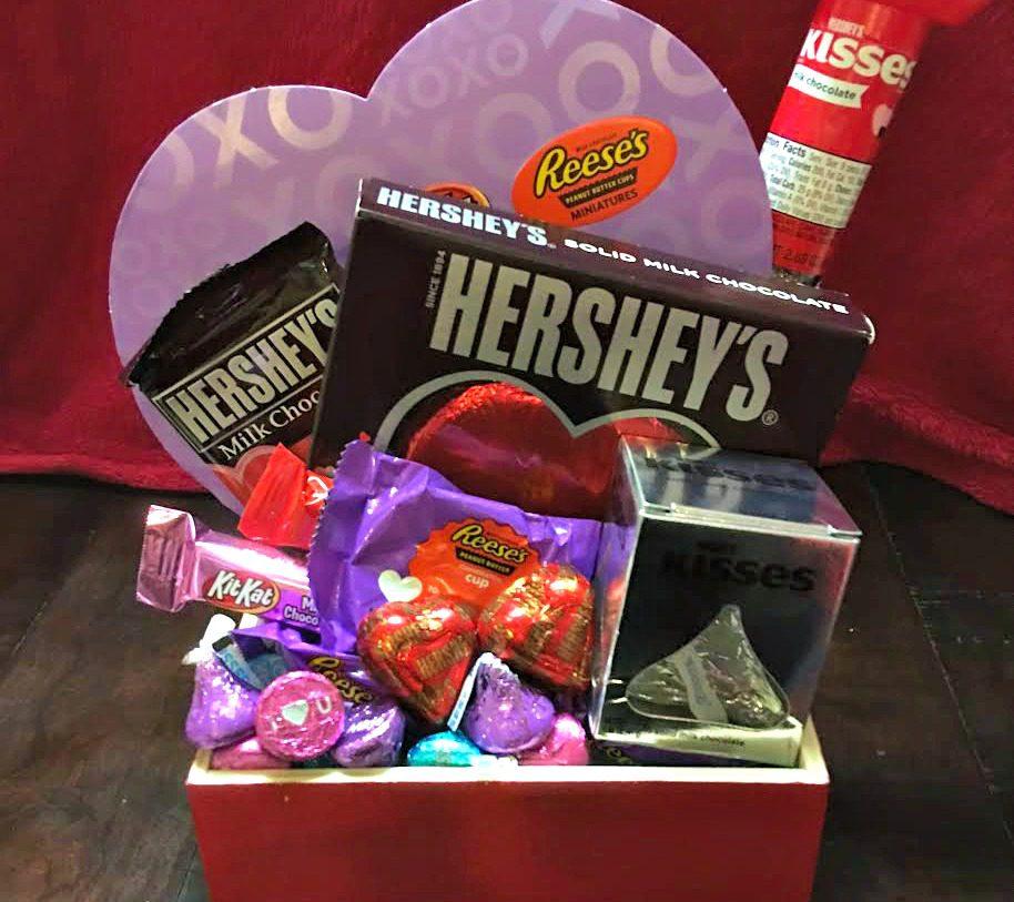 Hershey Valentine's Day Gift Basket 5
