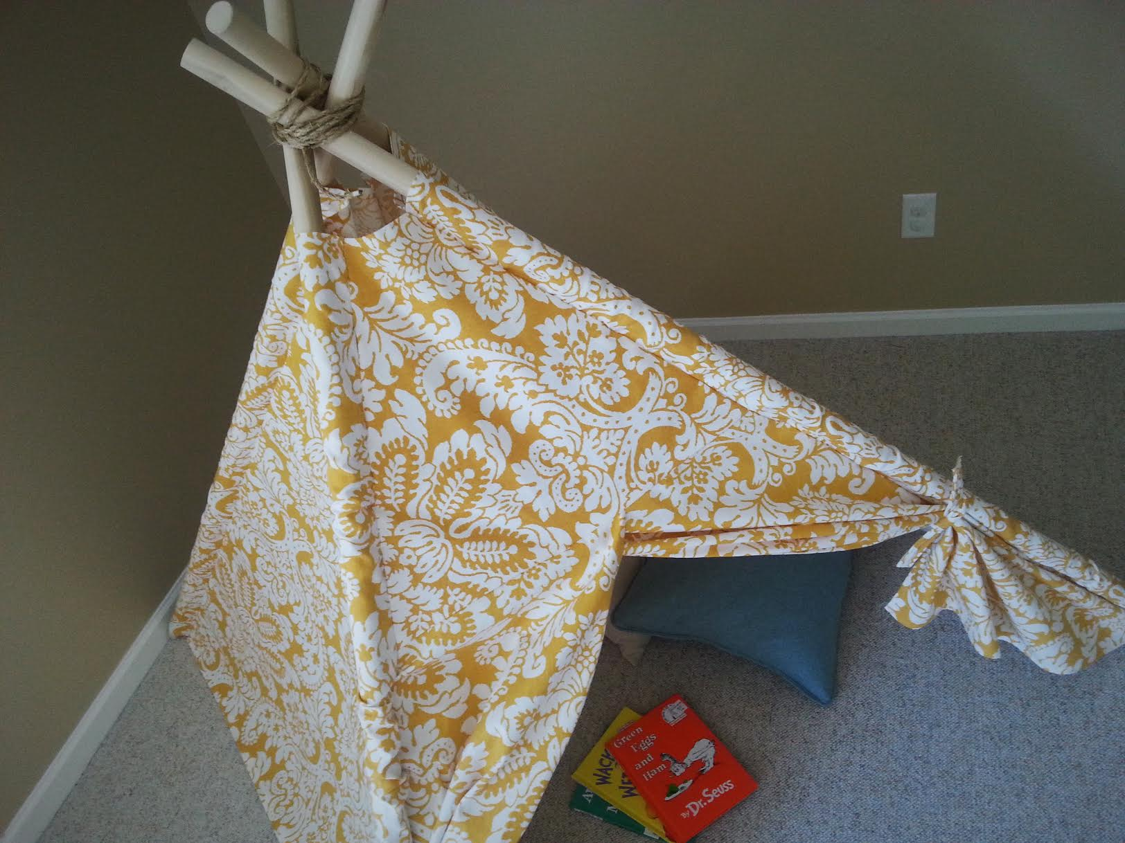 DIY Kids Teepee Tent Tutorial Final 2
