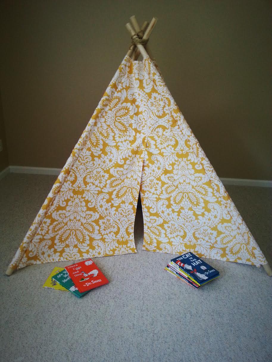 DIY Kids Teepee Tent Tutorial Final 3