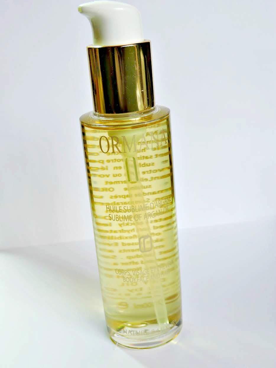 Ormana Skin Care Products Review Luxurious Dry Oil for Body, Face, and Hair