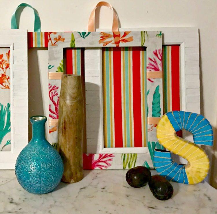 DIY No Sew Decorative Fabric Frames Waverly Inspirations