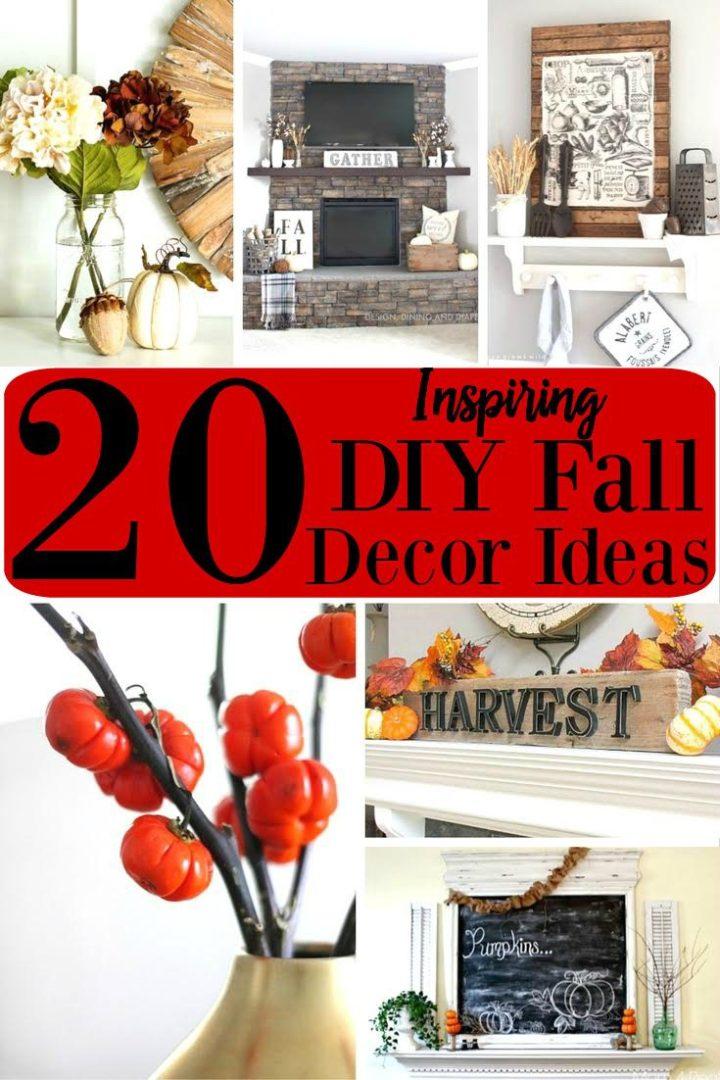 20 Inspiring DIY Fall Decor Ideas