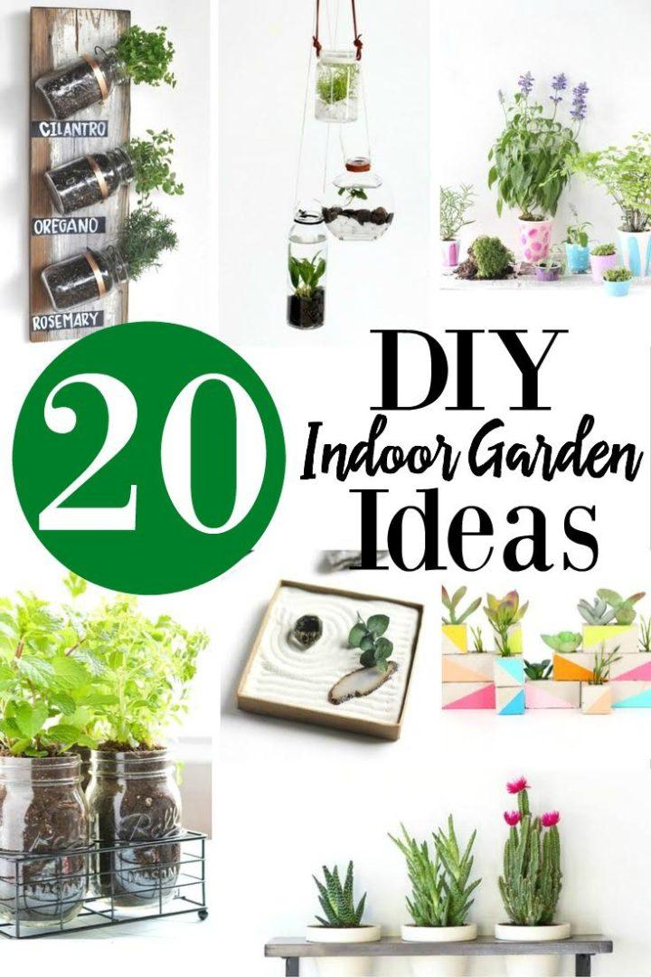 20 DIY Indoor Garden Ideas