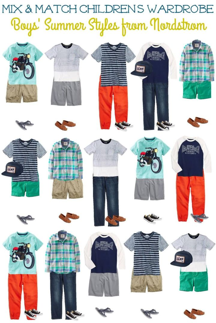 Kids' Summer Mix & Match Styles from Nordstrom Boys