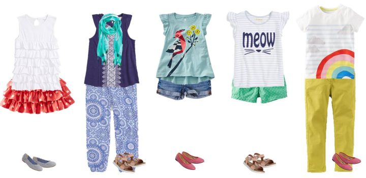 Kids' Summer Mix & Match Styles from Nordstrom Girls 3