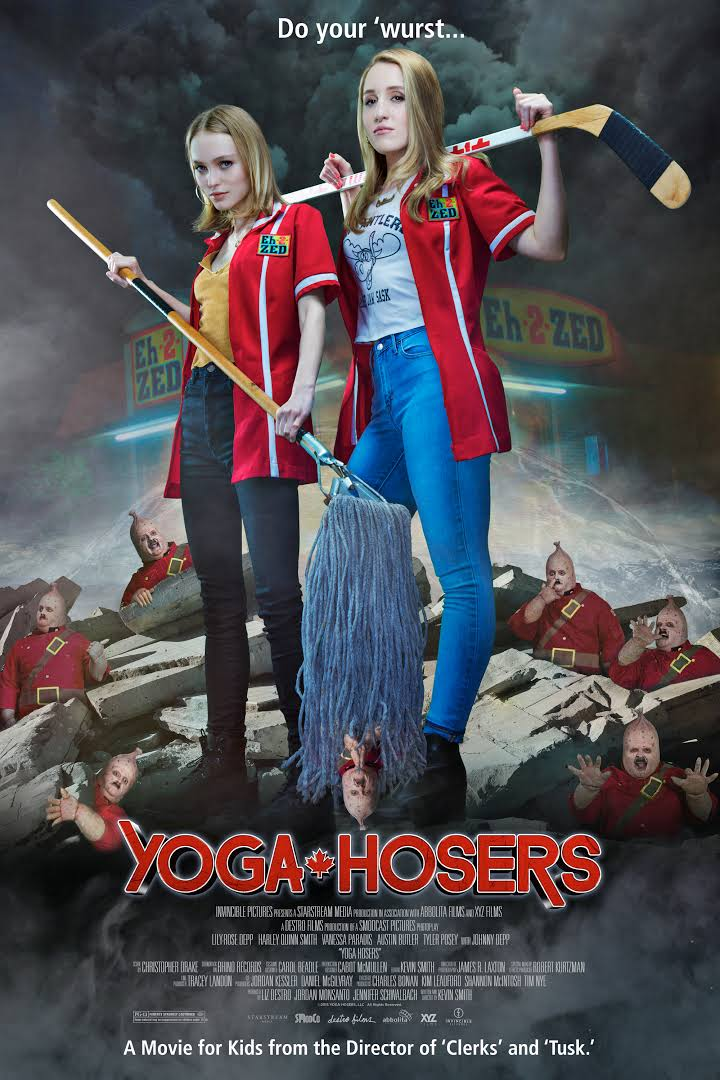 Yoga Hosers from Kevin Smith in Theaters Sept 2