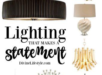 Unique Lighting that Makes a Statement