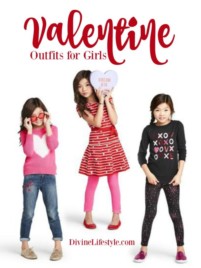 Cozy Valentine Outfits for Girls