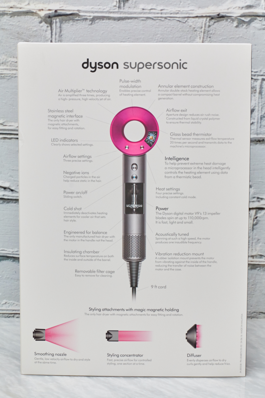 Dyson Supersonic Hair Dryer Review @BestBuy @Dyson #dysonsponsored