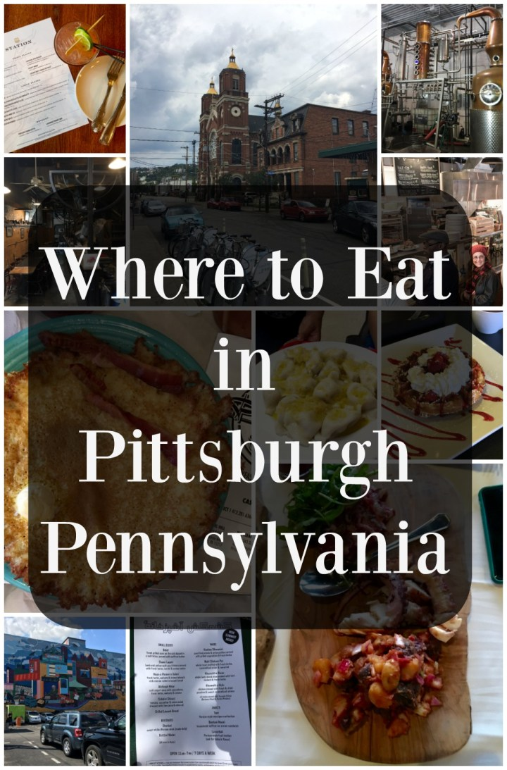 Where to Eat in Pittsburgh Pennsylvania #LovePGH @vstpgh