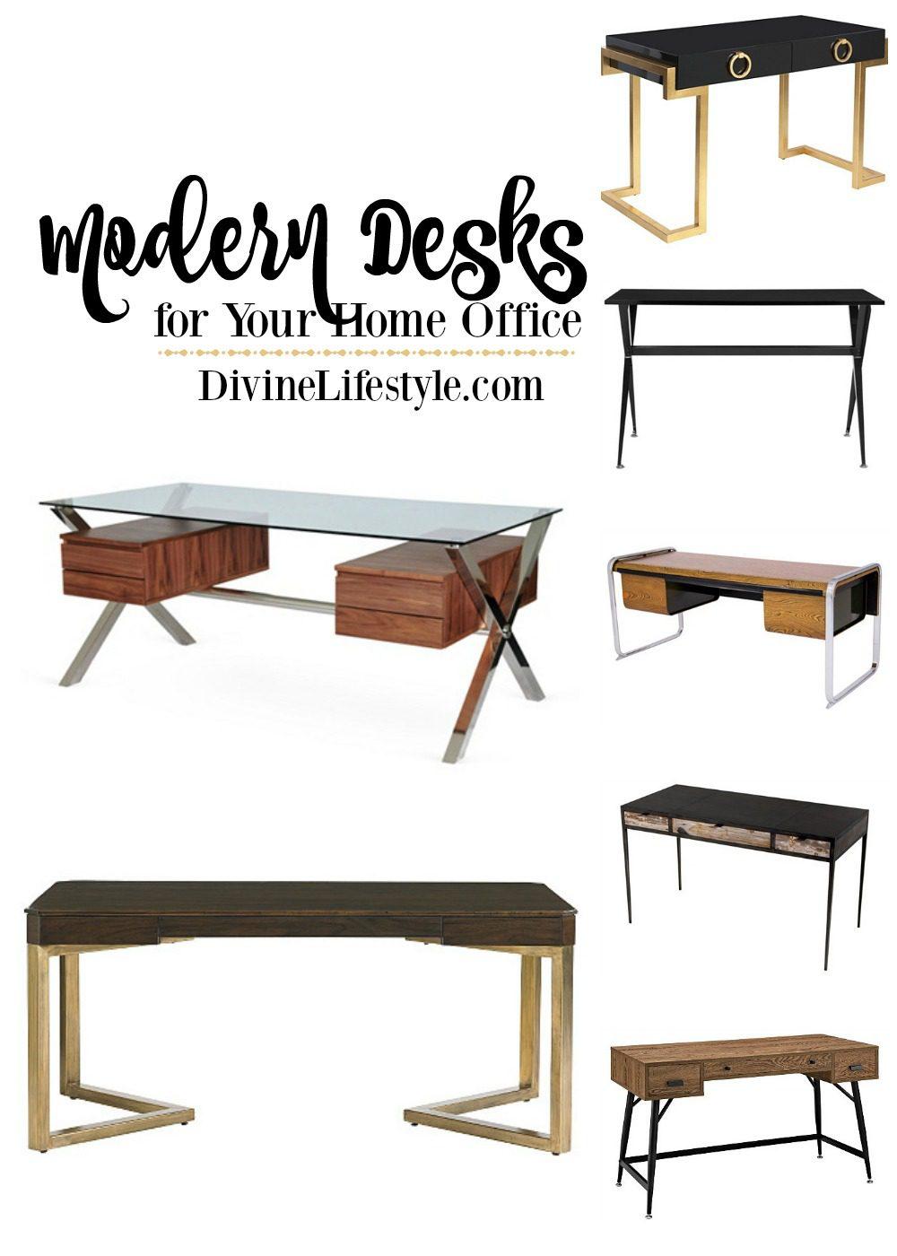 Sleek Modern Desks for the Home Office Design Divine Lifestyle