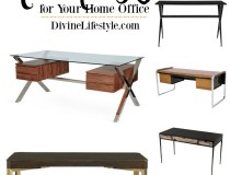 Create a Sleek Home Office with These Modern Desks