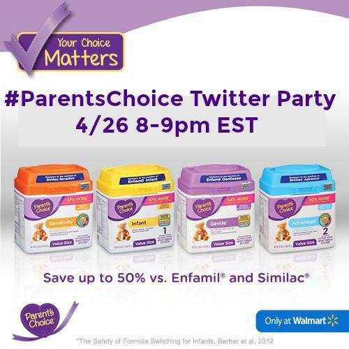 Parents Choice Twitter Party
