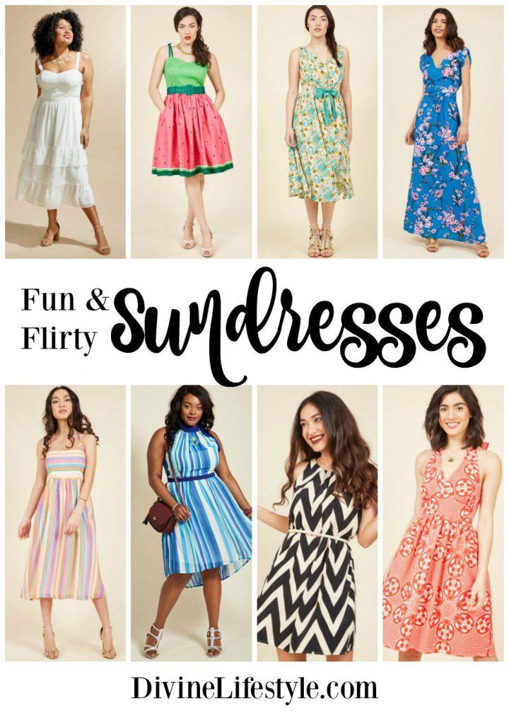 Fun and Flirty Sundresses