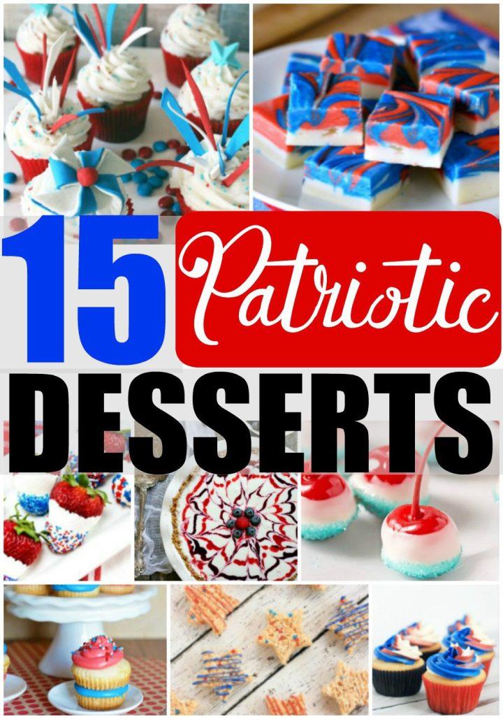 15 Patriotic Desserts